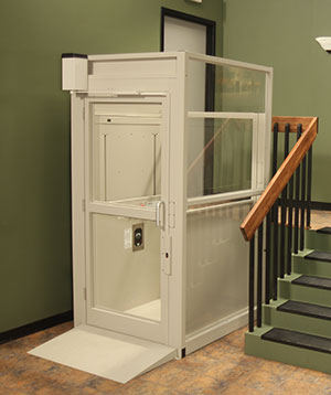 Home elevator installed in North Georgia homes & homes